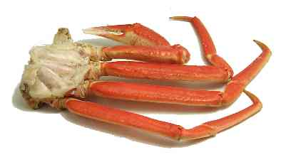 snow crab = rock crab = tanner crab = queen crab Notes: This is an