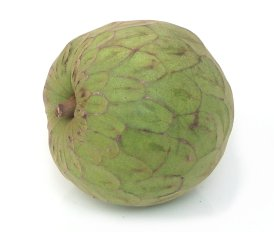 Green Exotic Fruits American tropical fruit is